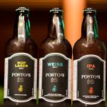 três cervejas artesanais do boteco posto 15